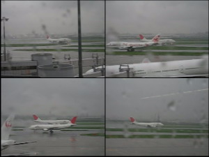 FromHanedaOfficeWindow_RainyDayLanding03.AVI