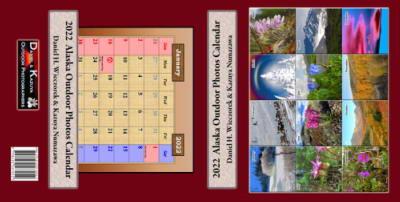 2021 Alaska Outdoor Photos Calendar - The Entire Cover