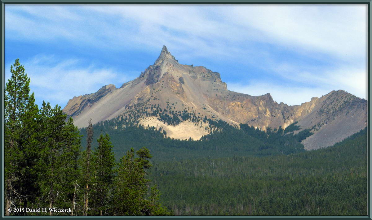 Mt. Thielsen - Near Diamond Lake, Oregon