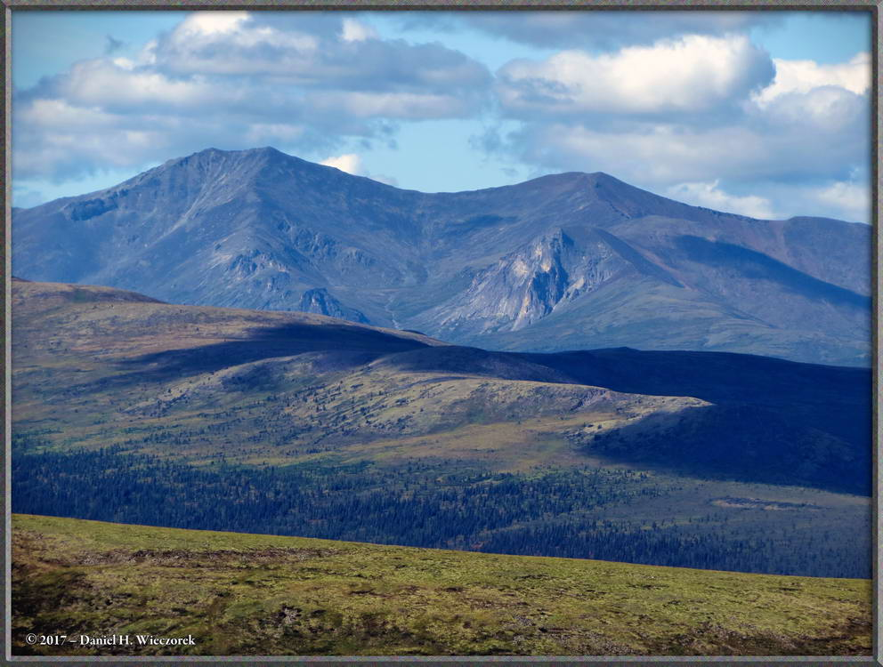 Distant Scenery - From the Pinnell Mountain Trail