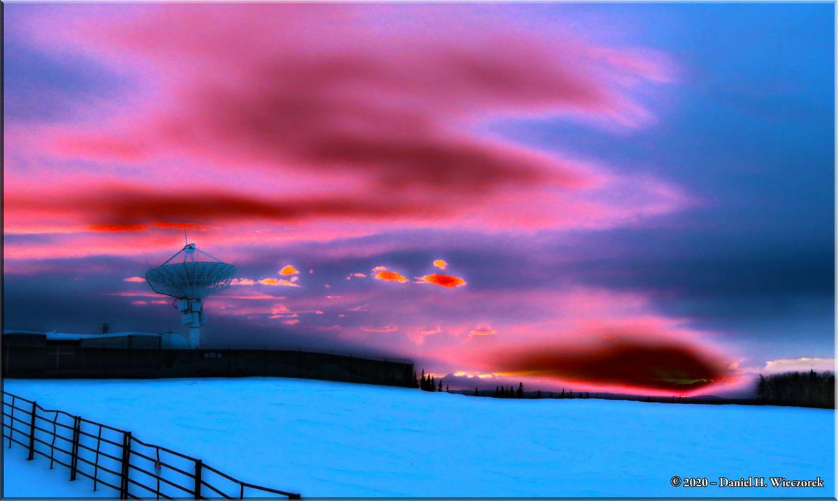 Sunrise Colors - Processed as High Dynamic Range Photo