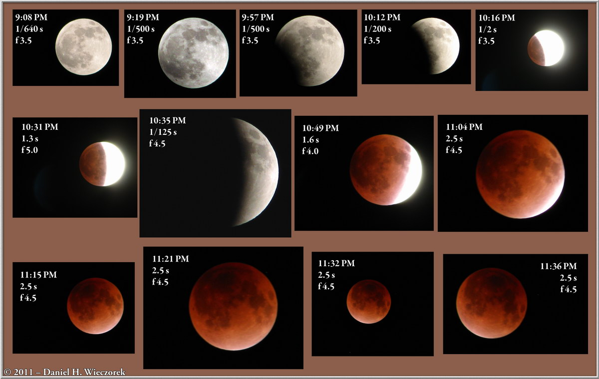 Total Lunar Eclipse - December 10th, 2011