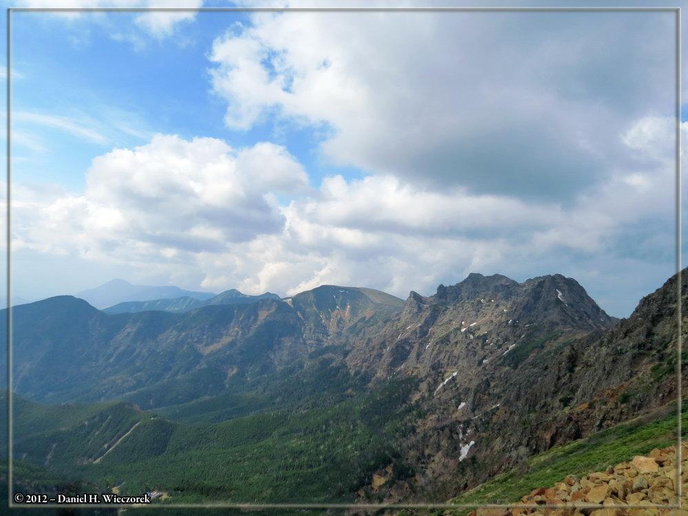 Yatsugatake - taken while climbing Mt. Aka (Akadake)