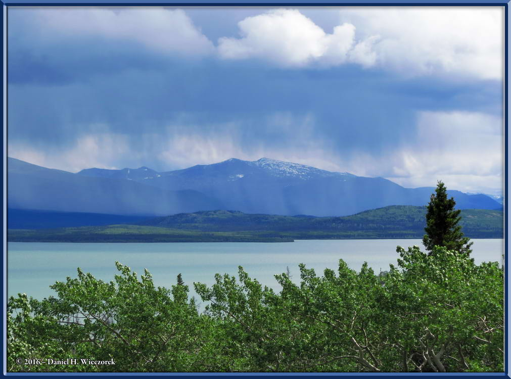 Dezadeash Lake - Rain in the Distance