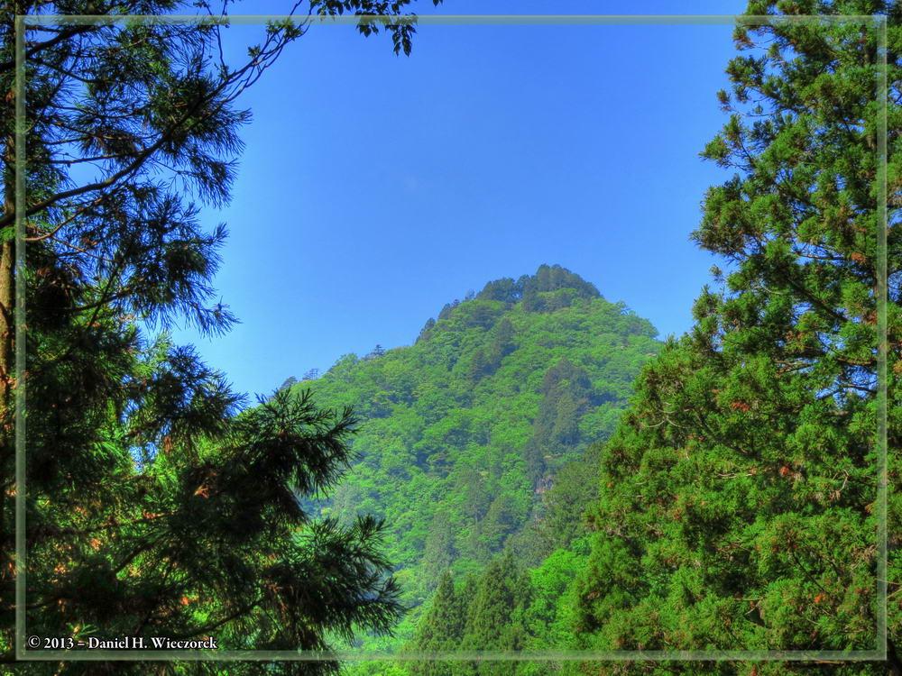 Beautiful Mt. Mitake Scenery