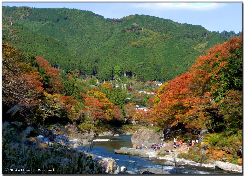 Upper Tama River and Autumn Colors (3 exposures; Tone-mapped) November 16th 1:39 PM