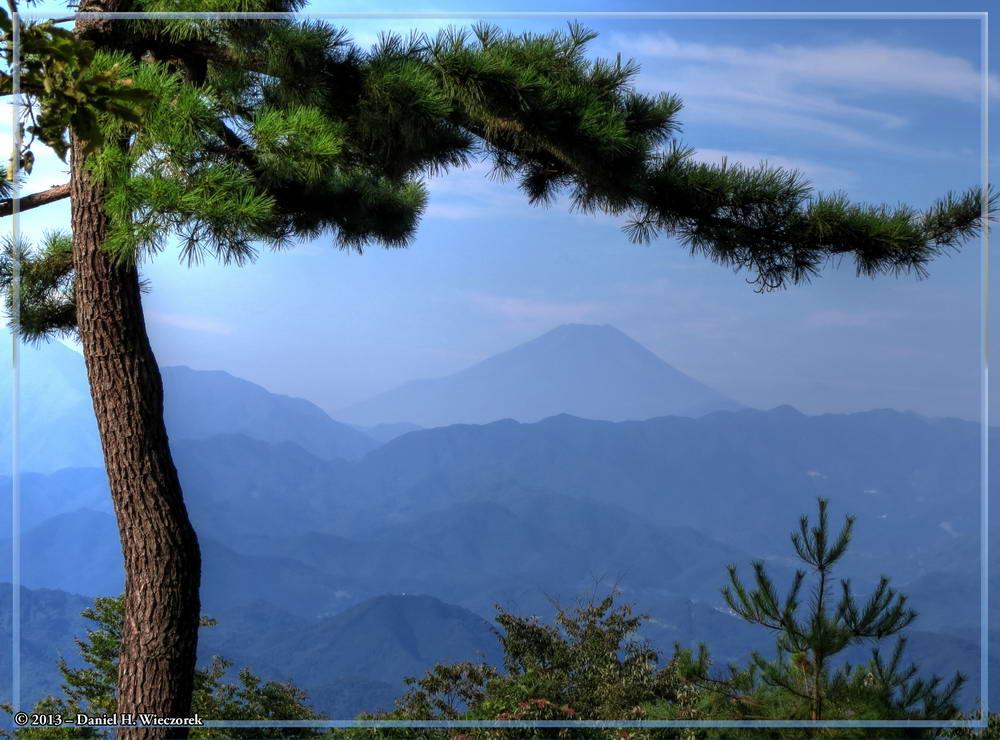 Mt. Fuji From Mt. Kobotoke-Shiro-yama