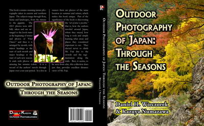 Outdoor Photography of Japan: Through the Seasons - Our First Book Published