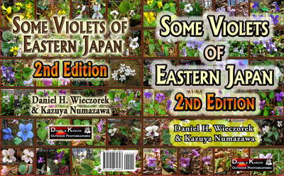 Our Second Book Published - Some Violets of Eastern Japan - 2nd Edition