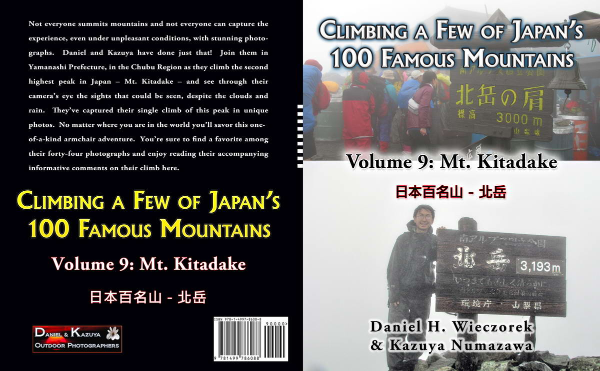 Climbing a Few of Japan's 100 Famous Mountains - Volume 9: Mt. Kitadake