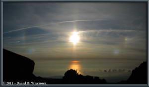 Aug08_293_294_ChokaiClimbSummitArea_Sunset_SunDogPanoramaRC