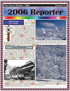 The 2006 Christmas Newsletter - in PDF Format