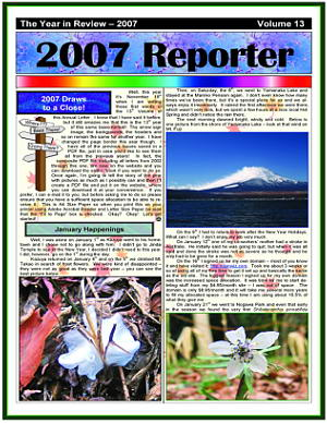 The 2007 Christmas Newsletter - in PDF Format