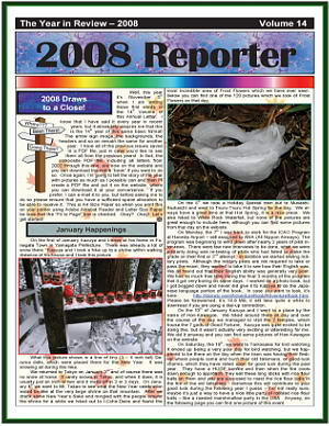 The 2008 Christmas Newsletter - in PDF Format