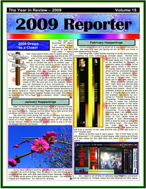 The 2009 Christmas Newsletter in PDF Format