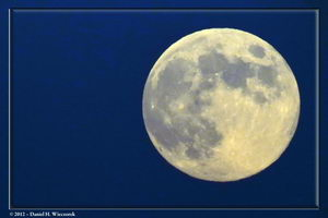 Aug 2012's Blue Moon - August 31 - from Mt. Takao