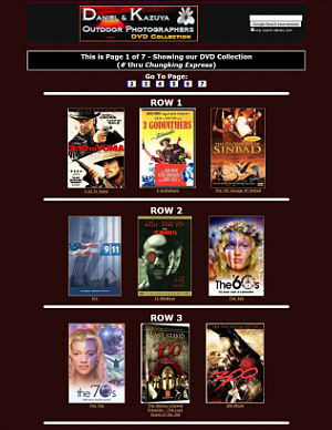 DVD Collection - Front Cover-art Images (7 Pages)
