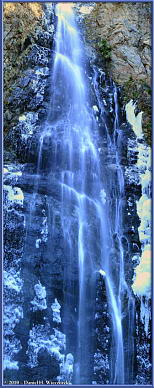Hyakuhiro Waterfall - A 4 Photo Collage