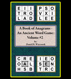 A Book of Anagrams - An Ancient Word Game: Volume #2