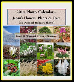 2014 Print Edition Photo Calendar - Japan's Flowers, Plants & Trees